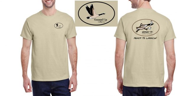 Goosed Up Cotton Short Sleeve T-shirt